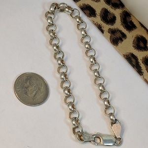 Jewelry - 1980s Vintage 925 Sterling Silver Italy Bracelet